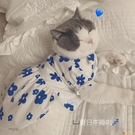寵物狗狗貓咪衣服【夏日花花襯衫裙/吊帶裙】夏季空調服防曬服【小獅子】