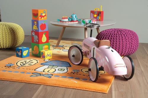 范登伯格 卡比諾★白兔家園地毯-117x170cm