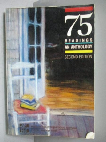 【書寶二手書T2/原文小說_KCS】75 Readings an Anthology Second Edition
