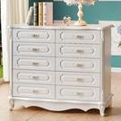 歐式五斗櫃白色雕花客廳組裝收納儲物櫃臥室五斗櫥簡約現代抽屜櫃 夢幻小鎮
