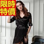 睡衣-甜美流行桑蠶絲真絲質裙裝女居家服57s14【時尚巴黎】
