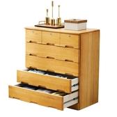 實木五鬥櫃整裝簡約現代五鬥櫥臥室儲物櫃收納櫃子抽屜櫃 【降價兩天】