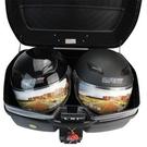 機車後尾箱-大容量堅固簡約手提摩托車置物箱用品3色(大款)73q5【時尚巴黎】