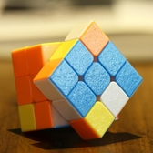 聖手磁力三階魔方磁力初學者比賽專用專業速擰益智魔方玩具 薇薇
