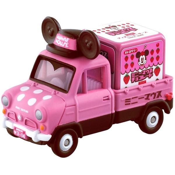 TOMICA 米妮小貨車 白色情人節版_ DS14640 迪士尼小汽車