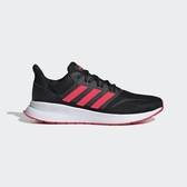 ADIDAS RUNFALCON [F36270] 女鞋 運動 休閒 慢跑 避震 透氣 舒適 健身 愛迪達 黑 粉紅