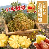 【果之蔬-全省免運】口吃蜜鳳梨X6顆(500-750g±10%/顆)