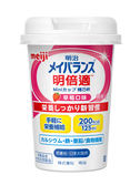 專品藥局 明治 明倍適精巧杯(草莓口味)-125ml(日本原裝進口,安素桂格完膳可參考)【2009896】