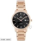 【台南 時代鐘錶 SIGMA】簡約時尚 藍寶石鏡面時尚腕錶 1122L-R1 黑/玫瑰金 30mm 平價實惠的好選擇