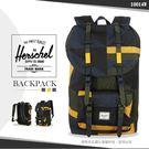 《熊熊先生》Herschel大容量後背包 減壓背帶護脊背墊休閒筆電包15吋電腦包 10014 束口雙肩背包