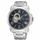 【分期0利率】SEIKO 精工錶 Premier 機械錶 43mm 藍 4R39-00S0B 簍空 SSA415J1