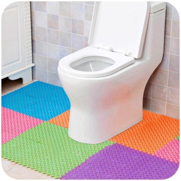 [超豐國際]拼接地墊浴室防滑墊廚房腳墊 衛生間廁所洗澡墊子門廳門