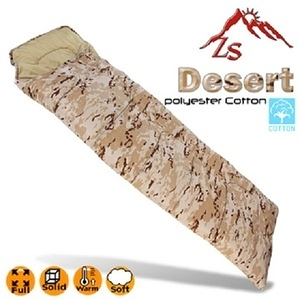 ZS Desert 沙漠迷彩款保溫纖維棉睡袋