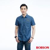 BOBSON  男款繡標襯衫   (26005-41)