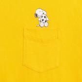 Levis X Snoopy sport限量聯名 男款 短袖口袋T恤 / 迷你史努比插畫印花 / 袖口Logo印花