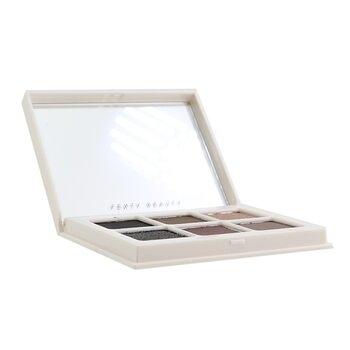 sW FENTY BEAUTY BY RIHANNA-18 眼影盤 Snap Shadows Mix & Match Eyeshadow Palette (6x Eyeshadow)- # 6 Smoky (Smoky Eye Essential