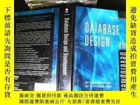 二手書博民逛書店Database罕見Design and Development