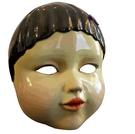 面具 魷魚游戲同款面具cos周邊123木頭人木偶面罩萬圣節化妝舞會道具黑