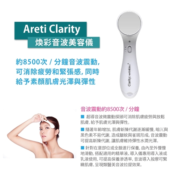 Areti:wrinkle L煥彩音波美容儀