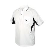 MIZUNO 男短袖POLO衫(免運 吸濕排汗 抗UV 台灣製 慢跑 美津濃 上衣≡體院≡ 32TA102101