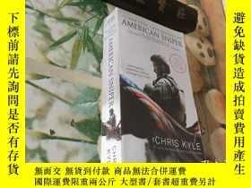 二手書博民逛書店American罕見Sniper [Movie Tie-in Edition] The AutoY204356