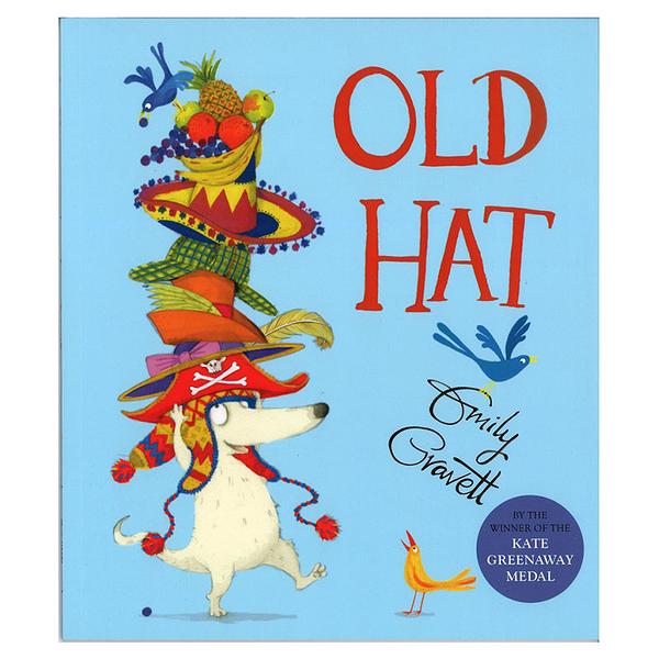 麥克書店Old Hat幽默趣味英文圖畫童書Emily Gravett
