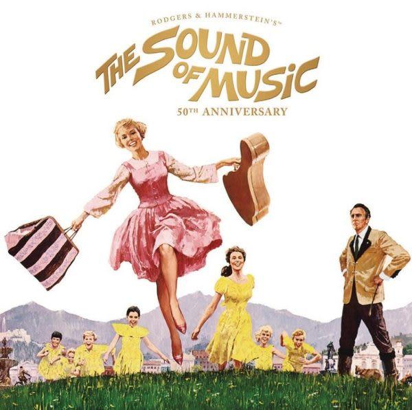 真善美 五十週年紀念版  電影原聲帶 CD OST (音樂影片購)