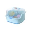 嬰兒奶瓶收納箱帶蓋防塵儲存收納盒
