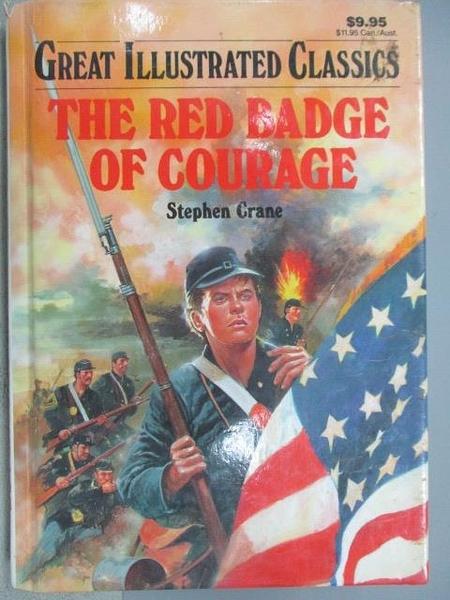 【書寶二手書T8/翻譯小說_FQ7】The Red Badge of Courage_Stephen Grace