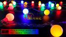 led燈 led彩燈閃燈串燈 裝飾燈串10米圓球掛件 派對節日裝飾彩燈   居優佳品DF