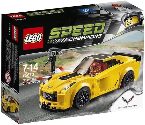 LEGO 樂高 Speed Champions 雪佛蘭 Corvette Z06 75870