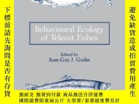 二手書博民逛書店Behavioural罕見Ecology Of Teleost