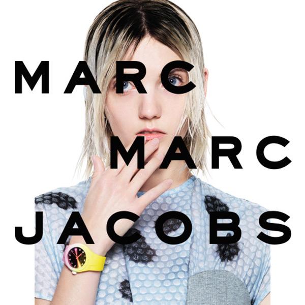 Marc Jacobs Baker 魔幻漸層時尚腕錶-漸層x深紅 MBM1319