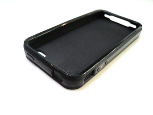○IPhone4S 雙料 皮革紋 手機殼 Apple IPhone 4S IP4 背蓋/保護殼/軟殼/彩殼/背蓋/保護套/手機套/TPU