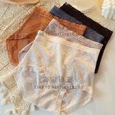 3條裝 高腰內褲女蕾絲收腹全棉大碼夏季薄款純棉襠抗菌透氣女士【毒家貨源】