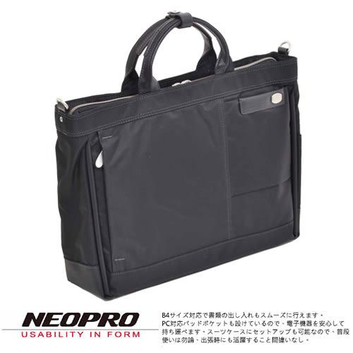 現貨【NEOPRO】日本機能包 商務 手提 電腦公事包 尼龍 B4 日本實用新案PILLAR系列 男女兼用【2-162】