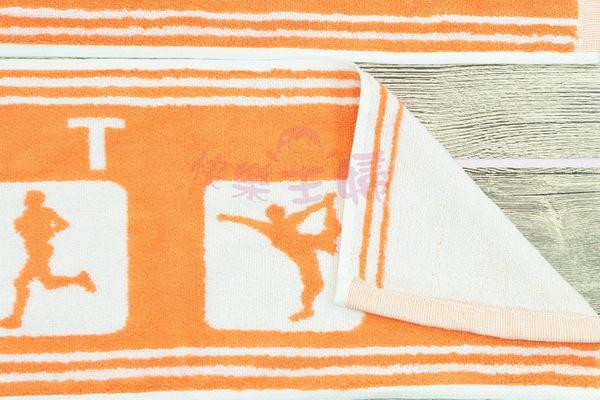 純棉運動毛巾 / 多條優惠 花色皆可混搭 / 台灣專業製造 【快樂主婦】