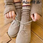 堆堆襪  襪子純棉中筒襪日系韓版復古百搭堆堆襪
