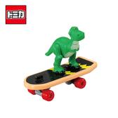 【日本正版】 TOMICA 騎乘系列 TS-10 抱抱龍 x 滑板 玩具總動員4 皮克斯 多美小汽車 - 133940