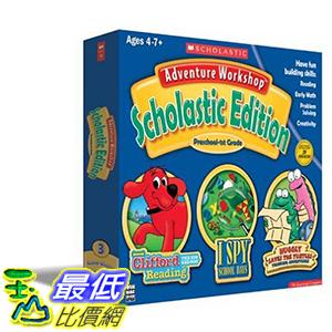 [106美國暢銷兒童軟體] Adventure Workshop Scholastic Edition With Clifford Bonus