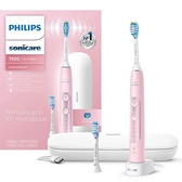 Philips【美國代購】飛利浦 電動牙刷 Sonicare ExpertClean 7500 藍牙 HX9690/07 - 粉色