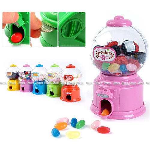 Kiret 扭蛋機 存錢筒 迷你糖果 玩具扭蛋機