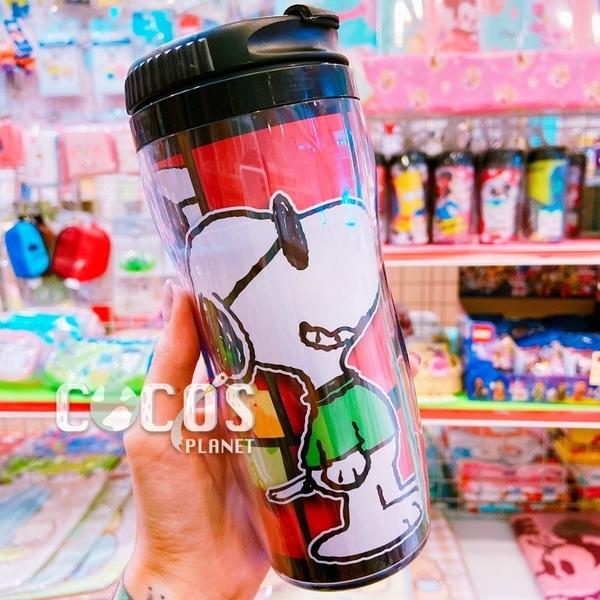 正版 SNOOPY 史努比 史奴比 隨行杯曲線杯隨手杯杯子水杯 耐熱 台灣製 墨鏡款 COCOS PP080