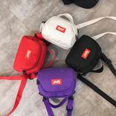 兒童挎包 兒童包包韓版潮男女童學生單肩包寶寶小孩時尚帆布手機零錢側挎包