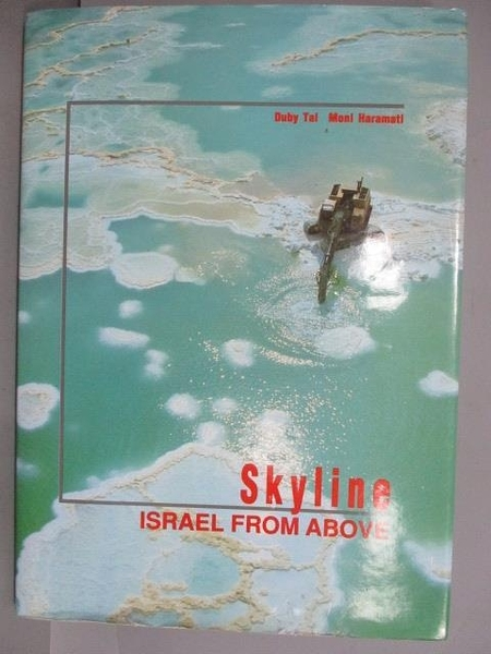 【書寶二手書T5/攝影_QBJ】Skyline_Israel Form Above