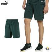 Puma ACE 9'' 男 墨綠 9吋 基本系列 運動 休閒 慢跑褲 籃球褲 短褲 透氣 排汗 51735002