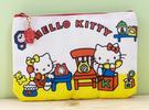 【震撼精品百貨】Hello Kitty 凱蒂貓~Hello Kitty日本SANRIO三麗鷗KITTY化妝包/筆袋-懷舊*85604