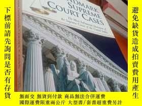 二手書博民逛書店原版16開厚冊罕見LANDMARK SUPREME COURT CASEY23609