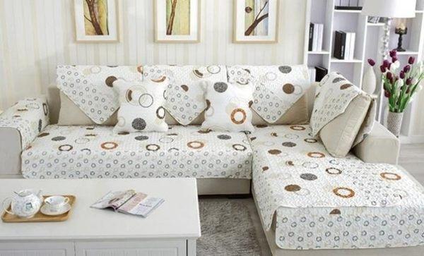 歐式沙發墊  布藝沙發罩 防滑皮沙發墊【潮咖範兒】
