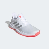 ADIDAS 女網球鞋 運動鞋 GAMECOURT FU8130 白 贈護腕 20FW【樂買網】